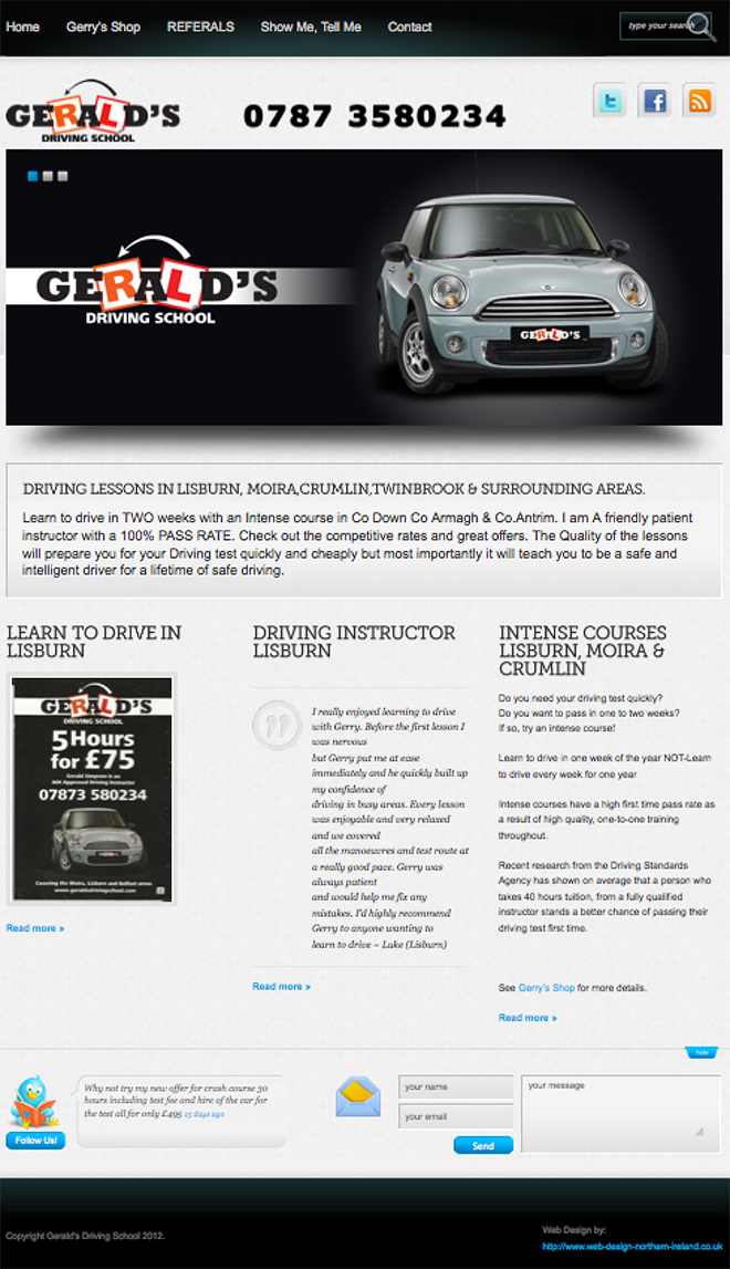 geralds driving school moira northern ireland