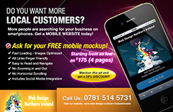 Free Mobile Website Mockup!